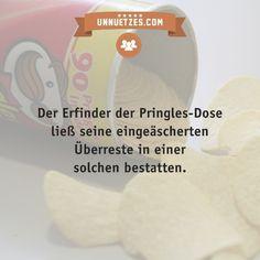 Mehr Infos: http://www.unnuetzes.com/wissen/14914/bestattung-in-pringles-dose/