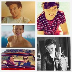 Louis William Tomlinson!<3<3<3 I love you Lou!! You are hilarious and never fail to make us laugh even when there are all of those stupid haters out there making fun of him because of Larry. Get a clue people! He loves Eleanor and it's obvious so just shove off!!