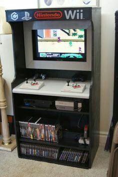 Customer Arcade Box Nintendo shelf
