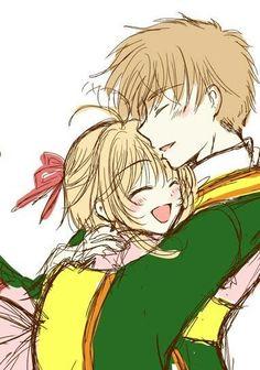 Resultado de imagem para sakura and syaoran