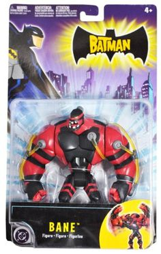 The Batman Year 2004 Animated Series 6 Inch Tall Villain Action Figure - BANE with Bashing Action Mattel http://www.amazon.com/dp/B004CBM57O/ref=cm_sw_r_pi_dp_BOFivb0VE62C7
