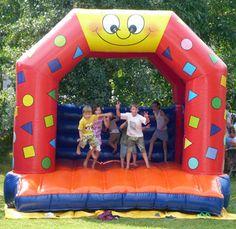Hüpfburg - CLOWN Cappellino, Karlsruhe - Kindergeburtstag, Kinderfest, Kindergarten, Schminken Kinder