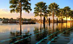 Boutique-Hotel The Siam Bangkok: Meine kolossal-koloniale Zeitreise *** Mit einer Zeitmaschine in die Vergangenheit – geht das? Siam, Boutique Hotels, Bangkok, Celestial, Sunset, Retro, Beach, Water, Outdoor