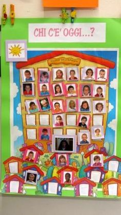 Risultati immagini per cartellone presenze scuola infanzia Classroom Organisation, Art Classroom, Nursery Activities, Activities For Kids, Reggio Children, Outdoor Education, Getting Organized, Sunday School, Montessori