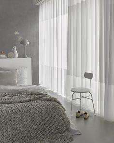 Inspiratie: in-between gordijnen voor elegantie, sfeer en privacy. | Mrwoon