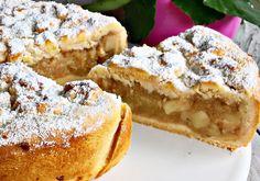 Szarlotka klasyczna Zewy - DoradcaSmaku - ten przepis cieszy się popularnością, sprawdź. Chicken Soup, Sweet Recipes, French Toast, Cooking Recipes, Sweets, Breakfast, Poland, Passion, Bakken