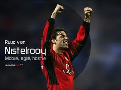 Tribute to a great player as he hangs his boots - Ruud van Nistelrooy. Ruud Van Nistelrooy, Nike Football, Man Utd Fc, Flying Dutchman, Premier League Champions, Desktop, Manchester United Football, Professional Football, Europa League