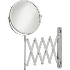 Buy HOME Extendable Round Chrome Shaving Mirror at Argos.co.uk, visit…
