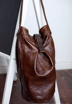 Slouchy Bucket Bag