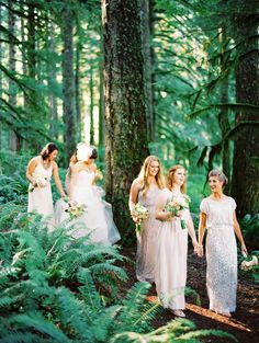To see more gorgeous details about this Oregon wedding: http://www.modwedding.com/2014/11/06/charming-rustic-outdoor-oregon-wedding/  #wedding #weddings  photo: Erich McVey Photography