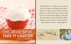 The Deen Bros. Lighter Red Velvet Cupcakes on PaulaDeen.com