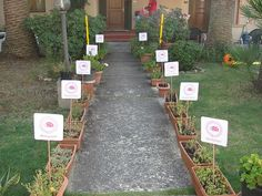 ladybug party welcome signs