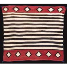 NAVAJO REVIVAL WOMAN'S SHOULDER BLANKET
