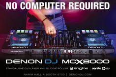 Denon MCX8000 Standalone DJ Player and Controller