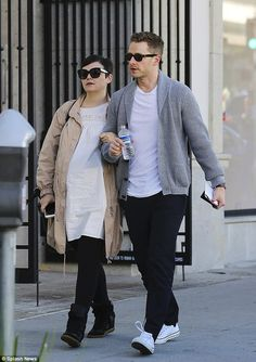 Shopaholics! Ginnifer Goodwin and her husband Josh Dallas were spotted shopping in Beverly Hills arm-in-arm on Friday