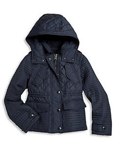 Burberry - Little Girl's & Girl's Quilted Jacket