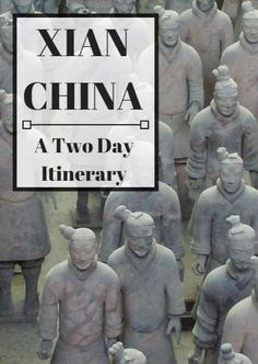 What to see and do with two days in Xi'an China