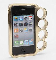 Brass Knuckle iPhone 4 Case