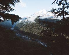 Cabinology Photo Water Blue Landscape Wallpaper Cloud River Mountains Sky