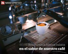 🇪🇸Resumimos la historia italiana en el sabor de nuestro café 🇺🇸We summarize the italian history inspiration in the taste of our coffee