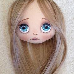 Еще одна большеглазка;) #кукла #куколка #куклаолли #олли #doll #artdoll