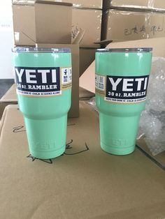 6 colors to Choose From - Painted Yeti 30oz Double Wall Stainless Steel Cup Tumbler