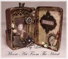 Moore Art From The Heart: Lovely Lady Tin