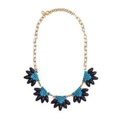 #jcrew #factory #necklace #blue #fashion #blogger #jewelry