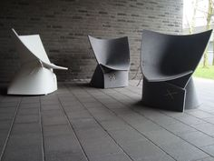 The FF1 Chair by James Van Vossel and Tom de Vrieze