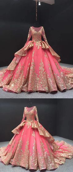Ball Gown Plus Size Prom Dress Vintage Quinceanera Dress With Sleeve : Source by FlaviaHarriottht dresses plus size Ball Gowns Prom, Ball Gown Dresses, Champagne Color Dress, Debut Dresses, Sweet 15 Dresses, Quince Dresses, Plus Size Prom Dresses, Formal Dresses For Weddings, Quinceanera Dresses