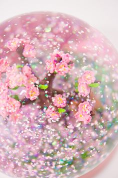 Limited Edition Cherry Blossom Snow Globe from QueenOfSnowGlobes.com