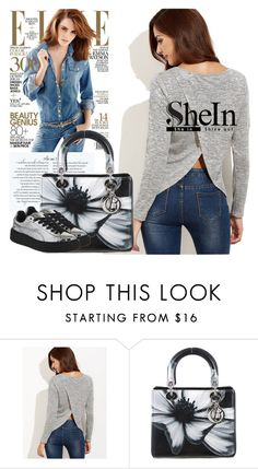 """Shein"" by dina123-1 ❤ liked on Polyvore featuring Christian Dior and Puma"