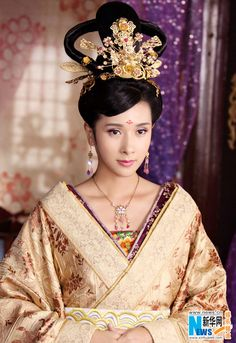 "traditional Chinese costume from ""Women of the Tang Dynasty"" TV series"