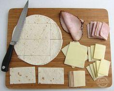 Make School Book Sandwiches