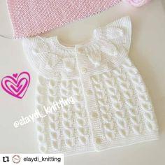Blusa tejido a dos agujas Baby Knitting Patterns, Tops, Women, Instagram, Ideas, Fashion, Knits, Tutorials, Crocheting