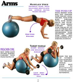 Workout Wedneday – Stability Ball Home Workout - Fitness For Women by Flavia Del Monte