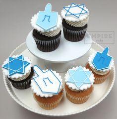 Hanukkah Cupcake Decorations