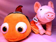 #FindingNemo CUDDLE & TALK #InteractiveToy & #BabeInTheCity  #Pigs  #Disney Kid #ThinkwayToys #Toys #Kids