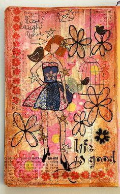 Girl #14 by Re Pacheco, via Flickr