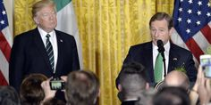Irish Prime Minister Uses St. Patrick's Day To Praise Immigration In Front Of Trump