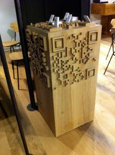 Le Qrcode inspire les designers de mobilier   QRdressCode   Scoop.it