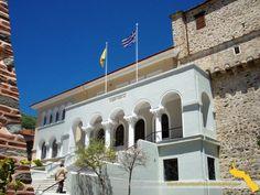 Scurtă istorie a Athosului | Sfântul Munte Athos Home Fashion, San, Mansions, House Styles, Home Decor, Mansion Houses, Homemade Home Decor, Villas, Fancy Houses