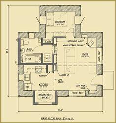 Small House floor plan