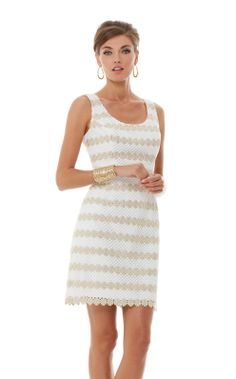 Love this dress  Meredith Scoop Neck Sheath Dress #LillyPulitzer