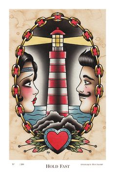 Last Port By Tyler Bredeweg Tattoo Art Print Traditional Artwork