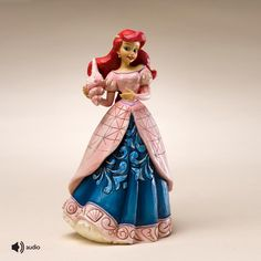 Figura musical princesa Ariel de Jim Shore para la colección Disney Traditions de Enesco. See more at http://www.lacasadelocio.es/