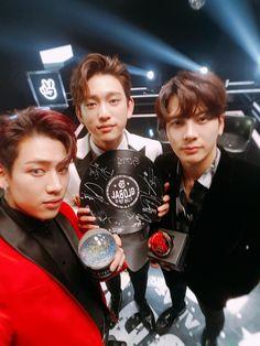 GOT7 Jackson Jinyoung and Bambam