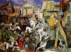 Raptus Sabinarum | El rapto de las Sabinas según Picasso. 1962