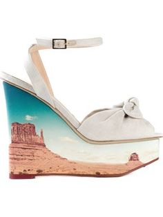 'Panoramic Miranda' sandals