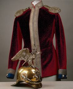 Emperor Nicholas II, Officer Uniform for use at formal balls, Russia,1900, Hermitage.